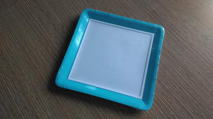 square paper plates wholesal Square Paper Plate
