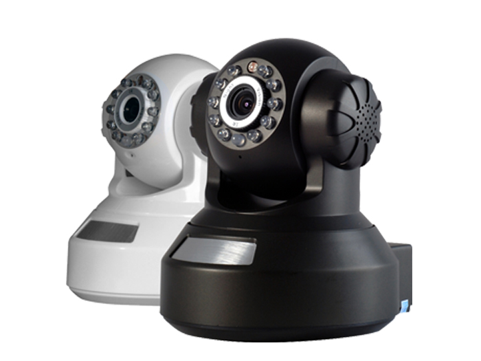 PTZ  WIRELESS SECURITY IP CAMERA WITH PAN, TILT AND NIGHT VISION