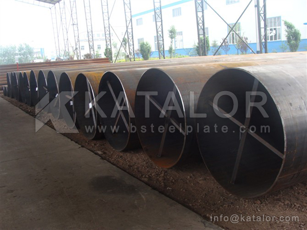API 5L X80 steel plate/pipes for large