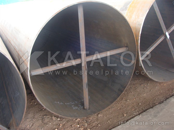 DIN 17172 StE 445.7 TM steel plate/pipes for large diameter pipes