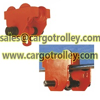 Plain trolley is parts of manual chain hoist