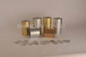 aluminium foil for pharmaceutical packaging Coldform Foil