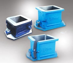 Cast Iron Cube Moulds (L-Shape)