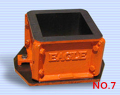 Cast iron concrete cube mould(four part)