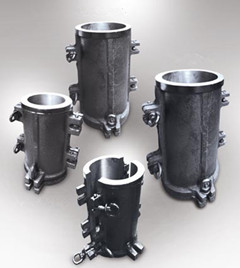 Cast Iron concrete Cylinder Moulds
