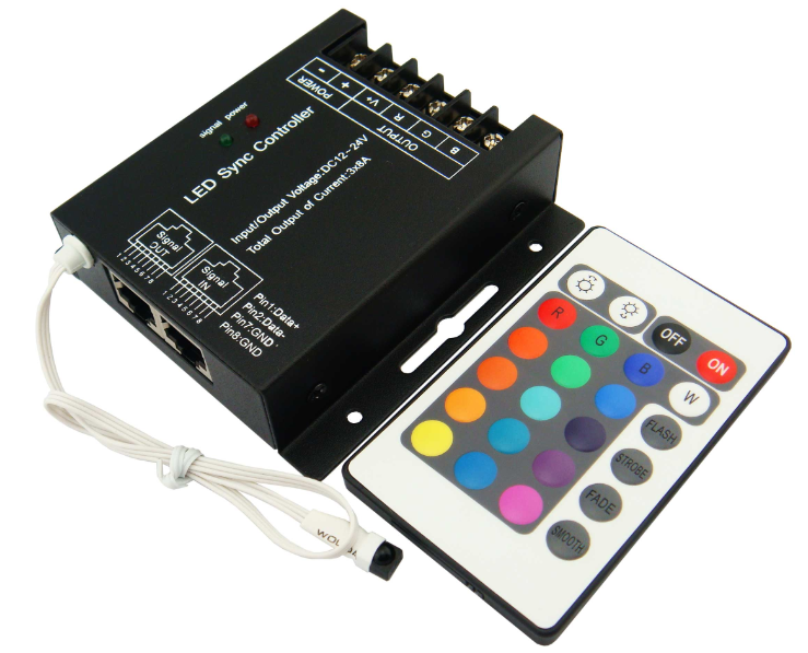 rgb led strip controller circuit RGB LED Strip Controller