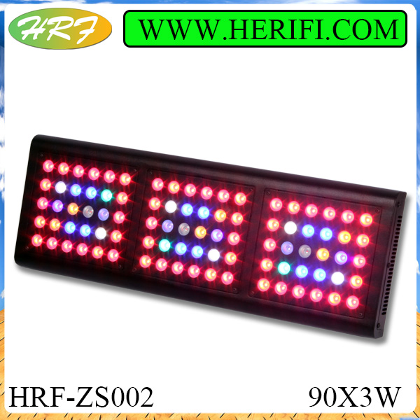 Herifi 2015 Latest light ZS002 90x3w LED Grow Light