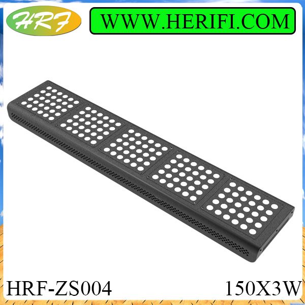 Herifi 2015 Veg flowers light ZS004 150x3w LED Grow Light