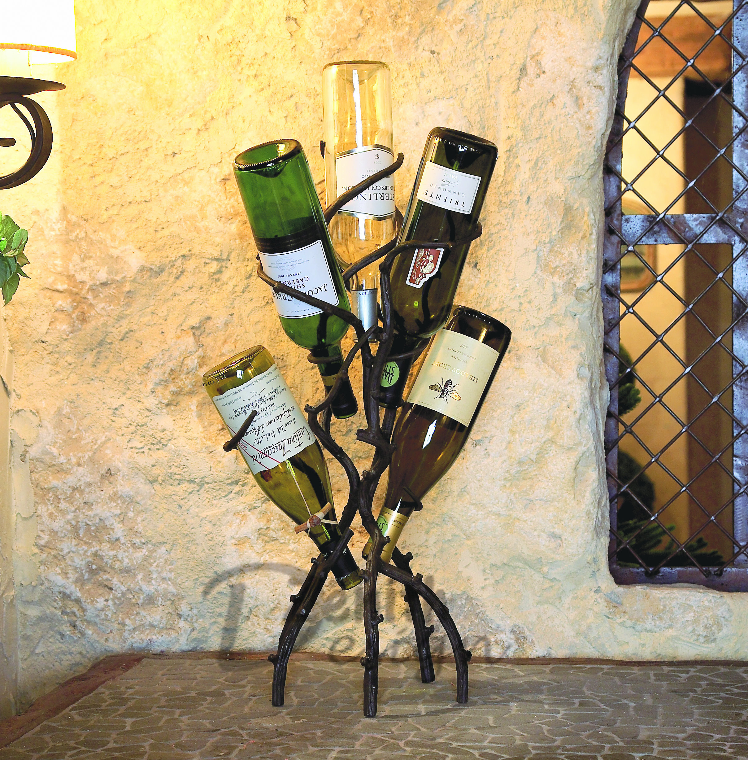 Single Vineyard Wine Bottle Cradle of Table Wine Decoration For ...