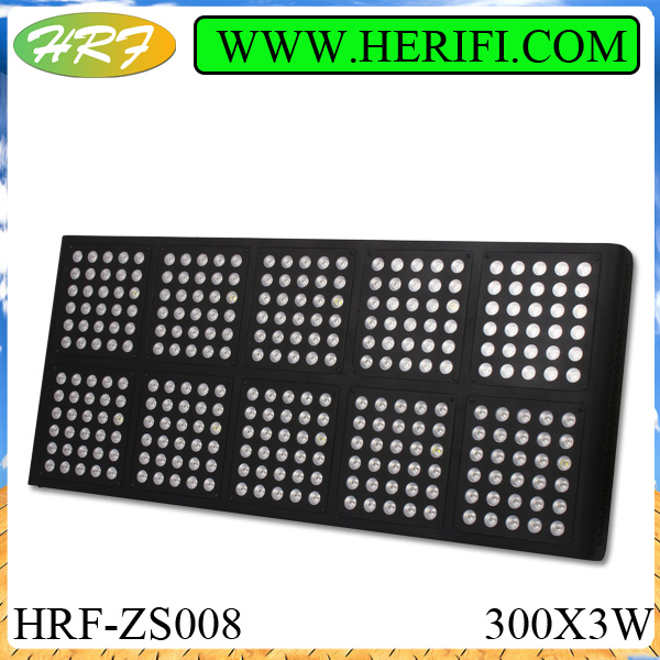Herifi 2015ZS008 300x3w LED Grow Light hydroponics growing light