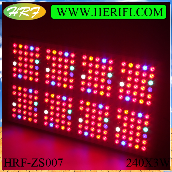 Herifi 2015 ZS007 240x3w LED Grow Light hydroponics growing light