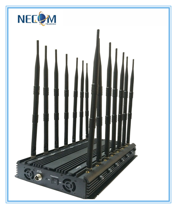 Desktop High Power All Bands Cellphone,Wi-Fi,Lojack,GPS,VHF,UHF Radio Jammer 14bands,Stationary 14bands Cellphone,WiFi,Lojack,GPS,VHF/UHF Radio Jammer/Blocker All in One