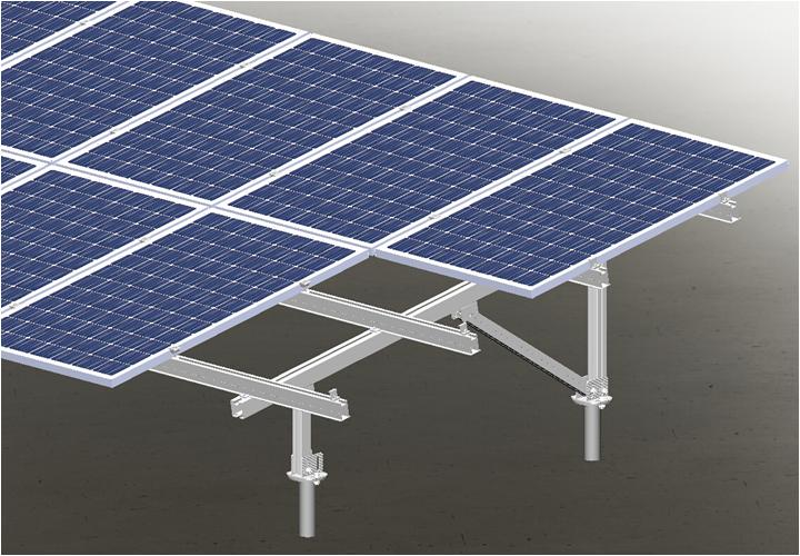 solar panel pole mount bracket Pole Solar Bracket