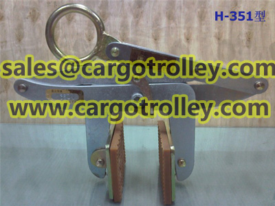 Slab stone scissor clamps pictures