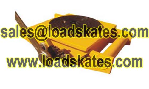 Geared cargo trolley save labor intensity