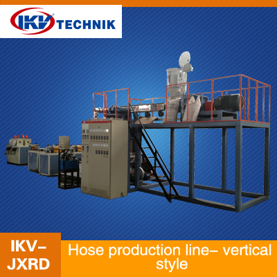 Hose production line- vertical style