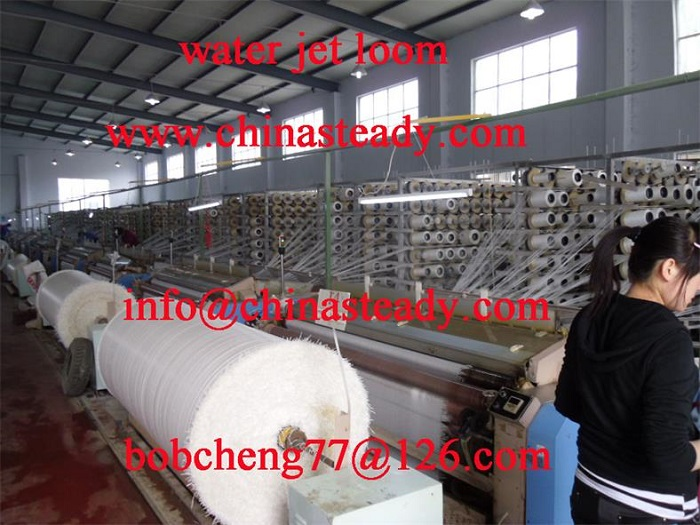 Textile Machinery Water Jet Loom For Plastic Weaving