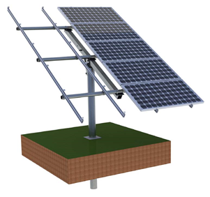Solar pole mounting solution
