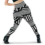 harem pants for dance Dance Stripe Print Harem Pants