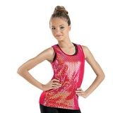 tank top for women Dance Hologram Tank Top