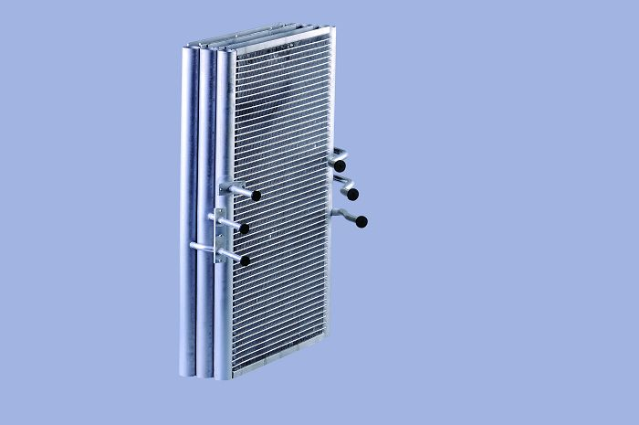 Heat Transfer Microchannel Condenser