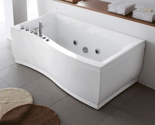 U-BATH water wave new design jacuzzi bathtub for 1 person