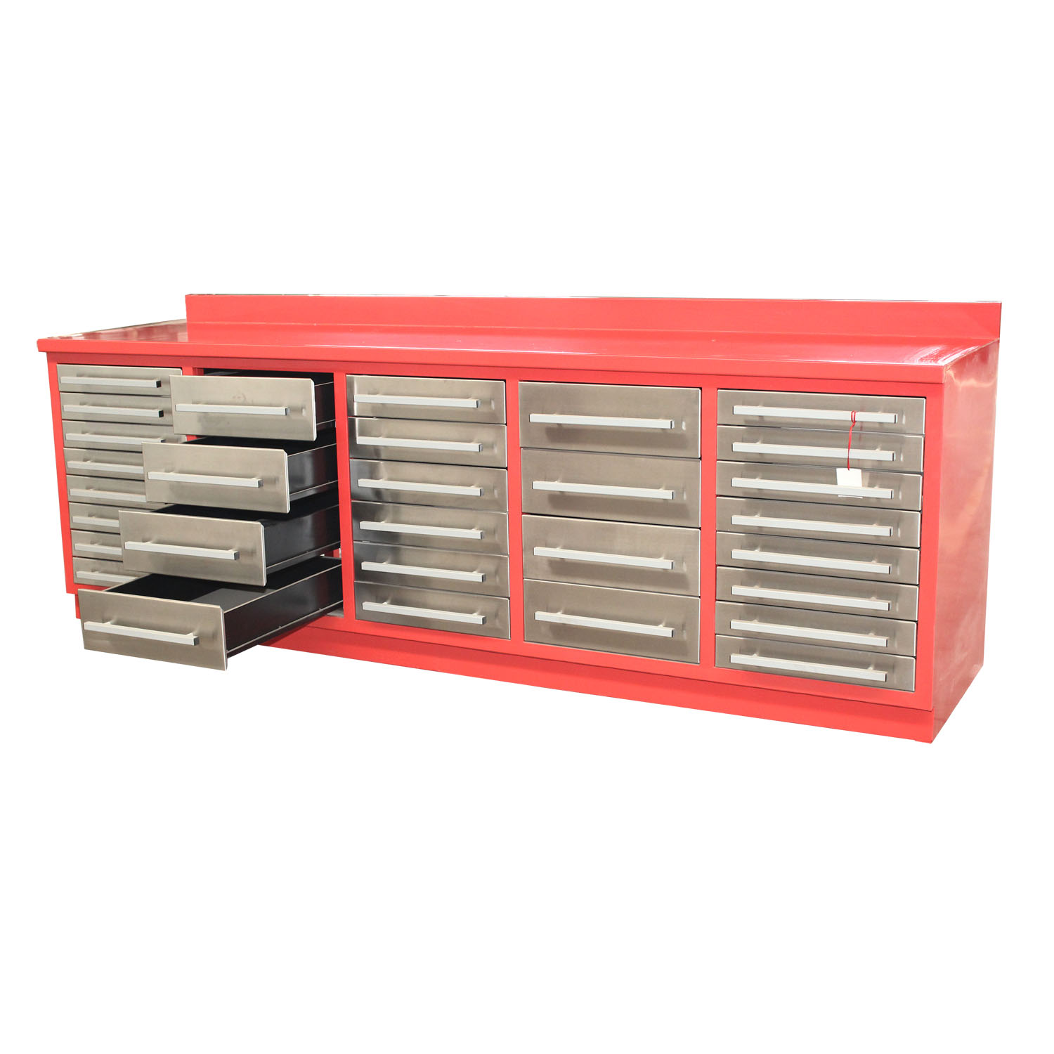 Manufacture heavy duty steel workshop bench with drawer