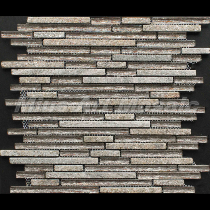 Metal Vs Stone Mosaic Tile C5A047-65B
