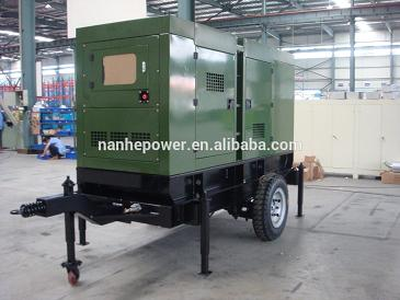 Trailer Mounted Diesel Generator Set