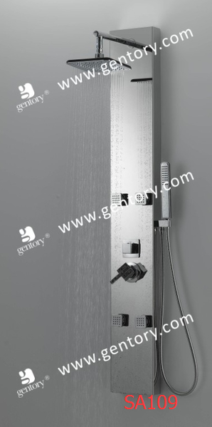 cUPC Stainless Steel  Mirror Finish  Massage Shower Panel  SA109