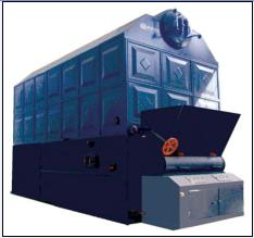 Double Drums Coal-fired Steam & Hot Water Boiler
