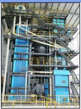 Circulating Fluidized Bed Boiler