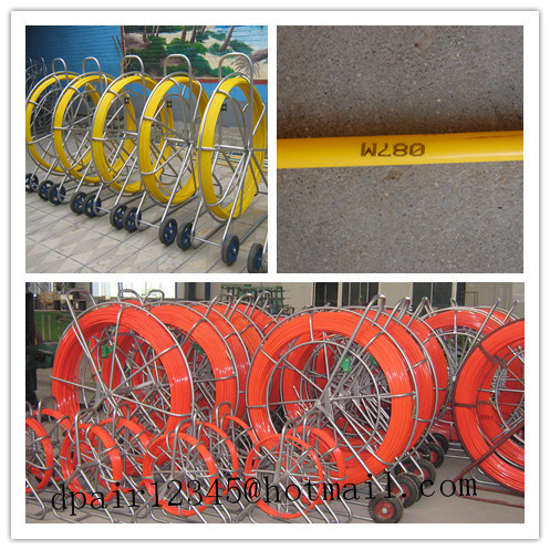 frp duct rod  Duct rod  frp duct rodder  HDPE duct rod