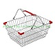 metal shopping baskets with handles GWL-01 400*280*200