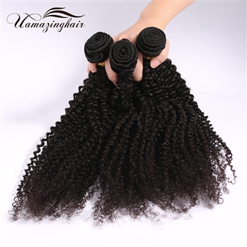 Brazilian Virgin Hair Kinky Curly 1pc Lot Unprocessed 7A Quality Free Shipping