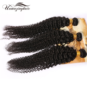 7A Brazilian Virgin Hair Kinky Curly Unprocessed 4 Bundles/400g Lot Free Shipping