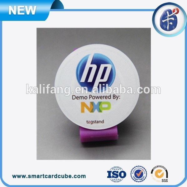 Competitive Price Cmyk Printing Passive13.56mhz, 915mhz RFID Label