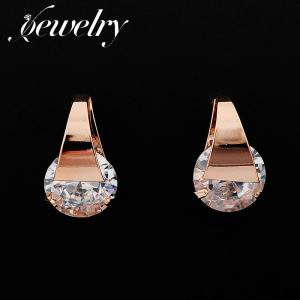 Zircon Copper Earrings  TE0015