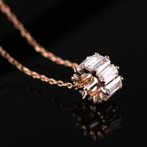 Zircon Copper Necklace  GSC0018