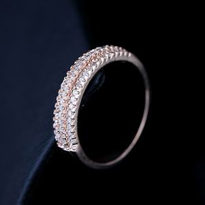 Zircon Copper Ring  GSJ0001