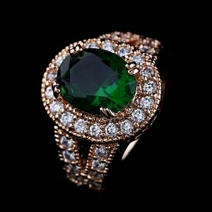 Zircon Copper Ring   GSJ0026