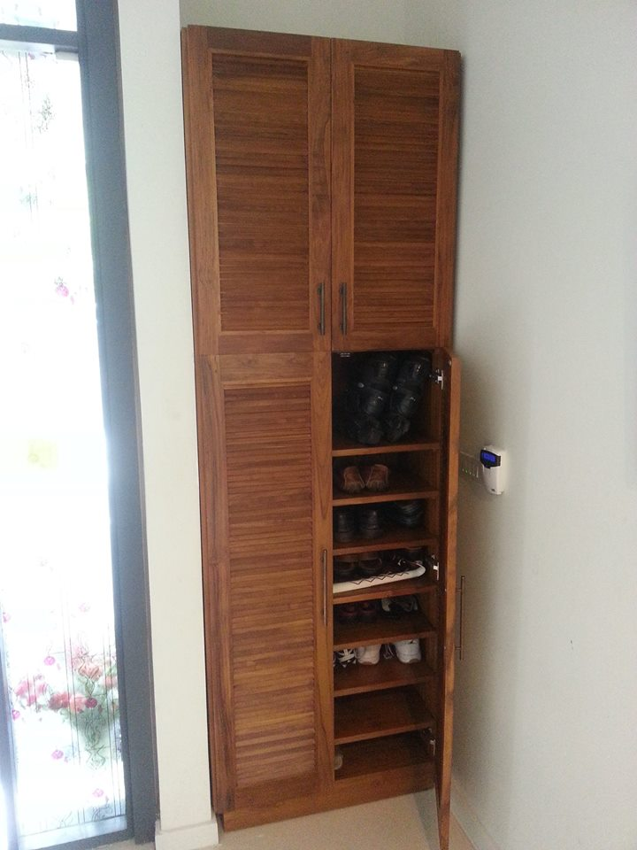Elegant ... Teak Wood Shoe Rack| Teak Shoe Cabinet ...