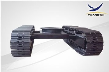 YJA02 STEEL TRACK UNDERCARRIAGE WITH SLEW BEARING