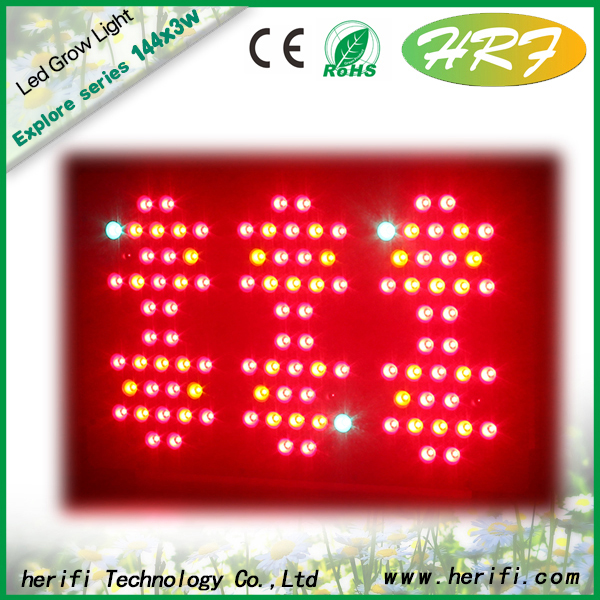 Herifi 2015 Updated full spectrum light 400w led grow light
