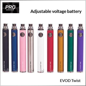 evod battery variable voltage Evod Battery
