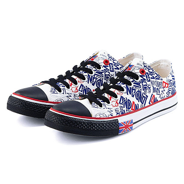 Lady Vulcanized Canvas Shoes
