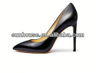high heeled dress shoes All Leather Lady High Heel Dress Shoes