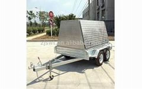 8x5 tandem trailer with cage Tandem Cage Trailer 8x5