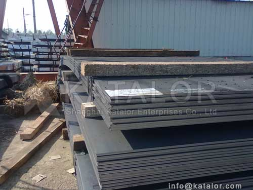 ASTM A204grA/B/C steel plate/sheet for steel with Cr., Mo.,Cr-Mo steels for pressure vessels