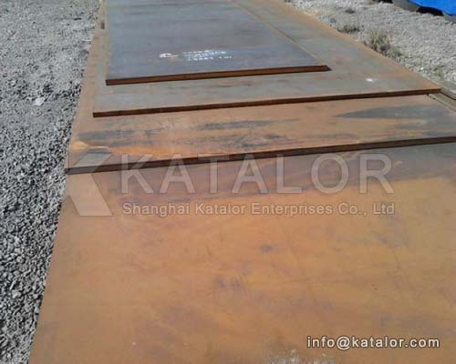 Steel plate for for Boiler Pressure Vessel BS 1501 161Gr.360/164Gr.360